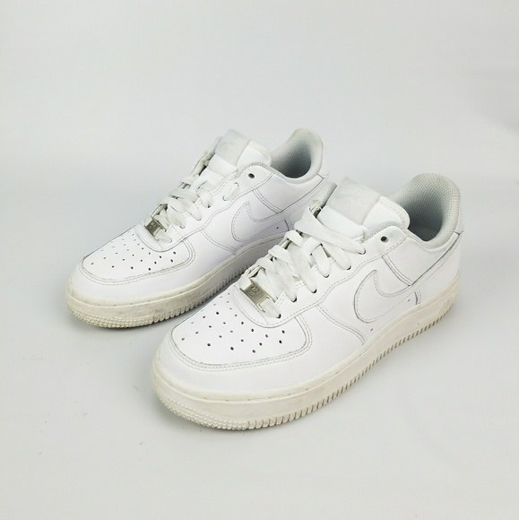 3b59bcf2378 Nike AIR FORCE 1(GS) LOW 314192-117  White Size 5Y.  M 5b2954967386bc10c81ac664